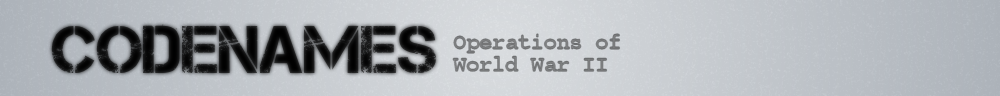 Codenames of World War 2